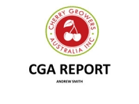 Andrew Smith: CGA report