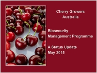 Biosecurity Management Program
