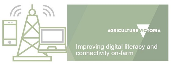 Ag Vic digital literacy banner