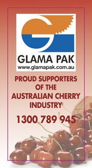Glama Pak proud sponsors of the Aus cherry industry
